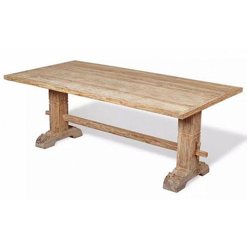 Zdjęcie produktu Masywny drewniany stół Darius - teak.