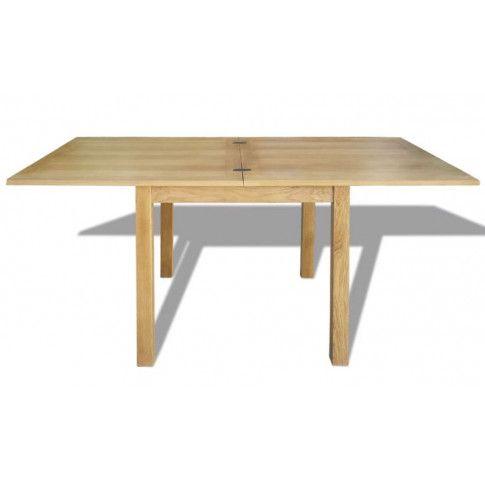 Rozkładany stół z drewna dębowego Rex