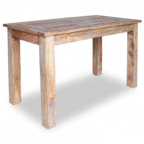 Jasnobrązowy stolik kawowy vintage Afilia 2X