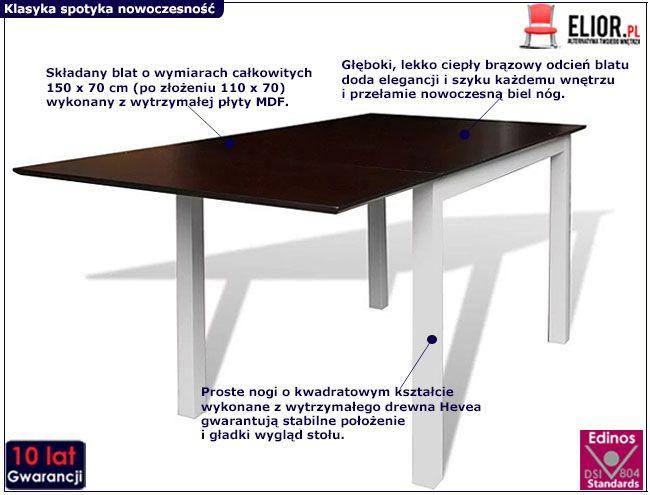 Stół Gavin 2V