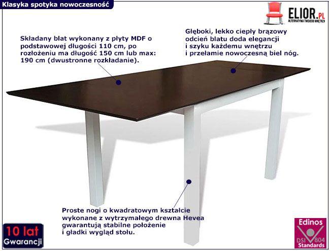 Stół Gavin 3V