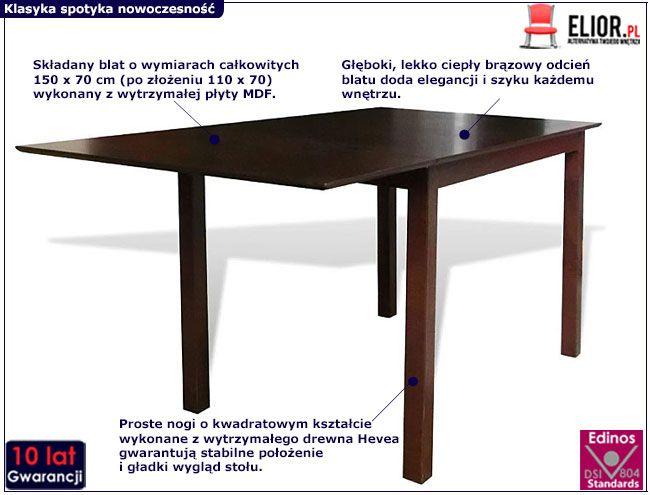 Stół Gavin 4V