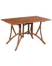 Rustykalny stół bambusowy Ticiano
