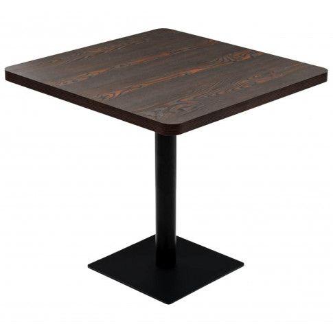 Zdjęcie produktu Ciemnobrązowy stolik bistro – Carol 4X .