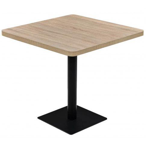 Zdjęcie produktu Jasnobrązowy stolik bistro - Carol 4X.