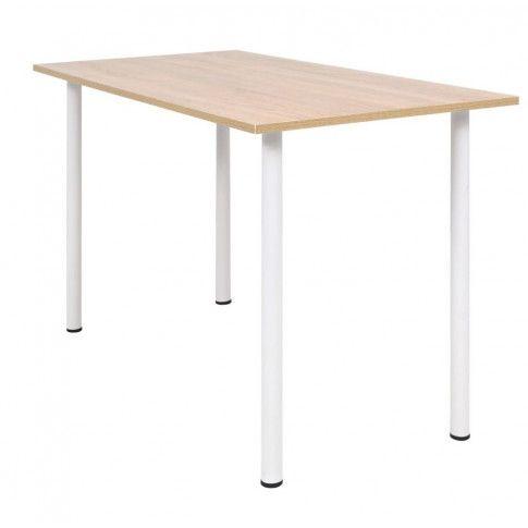Zdjęcie produktu Stół z płyty dębowej Serval – dębowy.