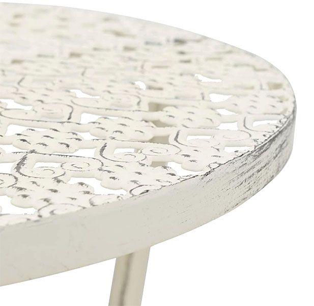stół Marin - ażurowy blat
