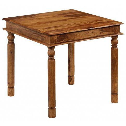 Zdjęcie produktu Kolonialny kwadratowy stół Cubus 2S - palisander.