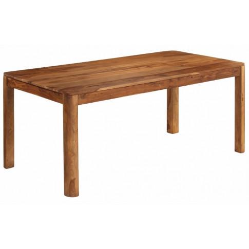 Brązowy stół drewniany Sierra 3X