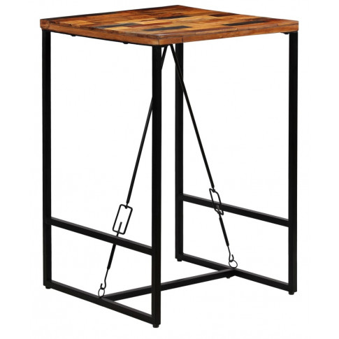 Industrialny stolik barowy Wick 2X