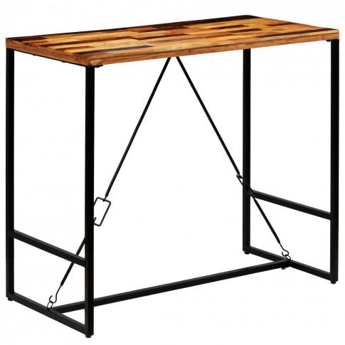 Industrialny stolik barowy Wick 3X