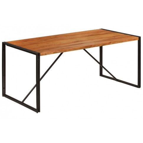 Zdjęcie produktu Industrialny stół z akacji 90x180 - Veriz 2X .