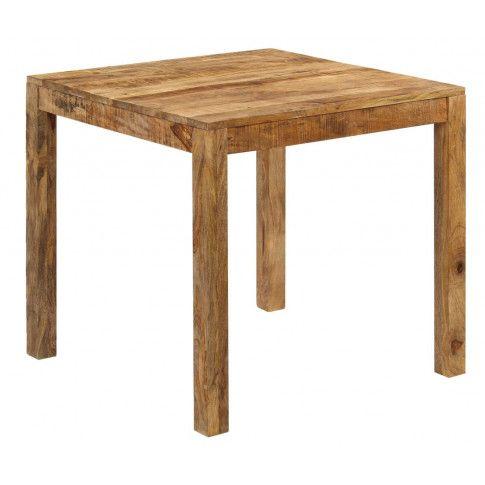 Zdjęcie produktu Stół z drewna mango Renis – brązowy .