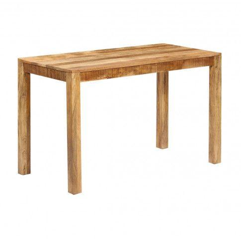 Zdjęcie produktu Stół z drewna mango Renis 2X – brązowy .