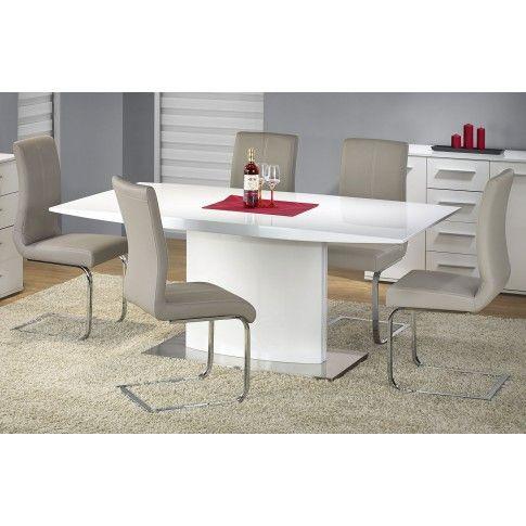 Zdjęcie produktu Stół lakierowany Delios - biały.