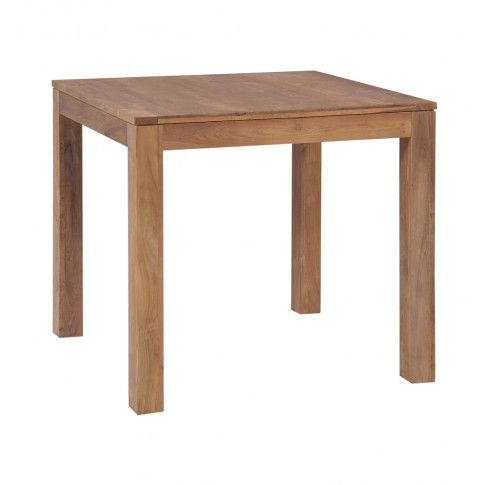 Zdjęcie produktu Stół z drewna tekowego Margos – brązowy .