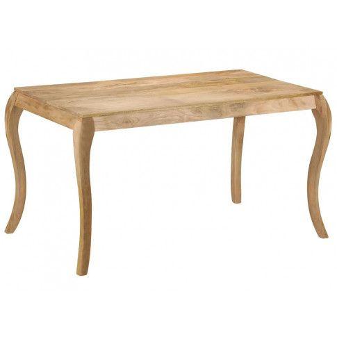 Zdjęcie produktu Stół jadalniany z drewna mango Nezis – brązowy .