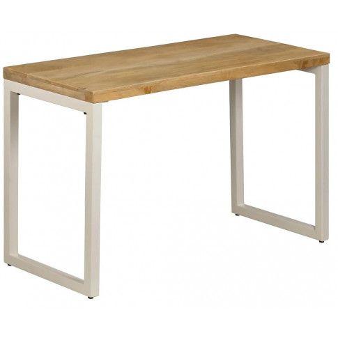 Zdjęcie produktu Stół do jadalni z litego drewna mango i stali Vilen – brązowy .