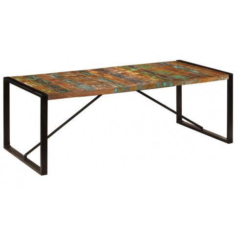 Zdjęcie produktu Wielokolorowy stół 100x220 - Veriz 6X .