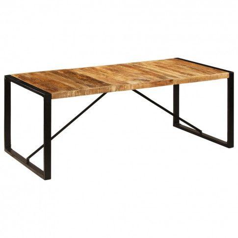 Zdjęcie produktu Industrialny stół drewniany 100x200 – Veriz 5X.