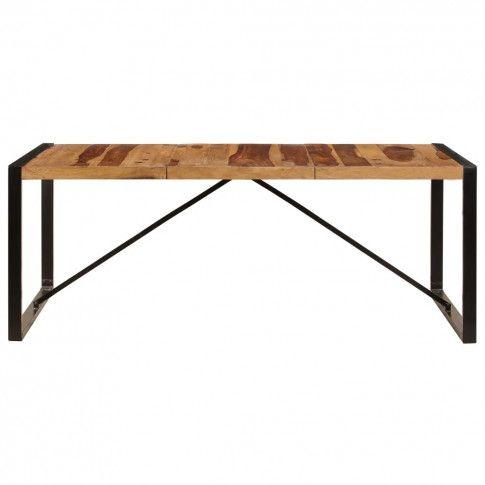 Zdjęcie produktu Industrialny stół z sheesham 100x200 - Veriz 6X .