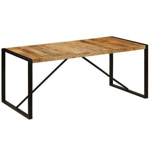 Zdjęcie produktu Stół z mango Veriz 4X – jasnobrązowy .