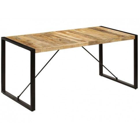 Industrialny stół drewniany z mango Veriz 3X