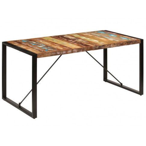 Wielokolorowy stół industrialny Veriz 3X