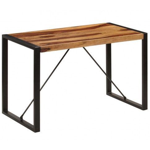industrialny stół Veriz 2X z drewna sheesham