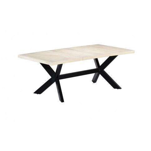 Zdjęcie produktu Stół z drewna mango Kalis 4X – biały.