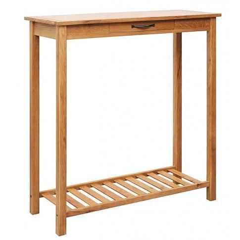 Zdjęcie produktu Klasyczny dębowy stół barowy Camden.