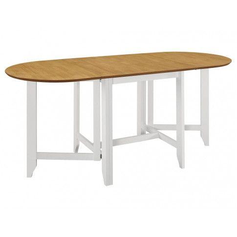 Zdjęcie produktu Rozsuwany stół Nexos – biało-brązowy .