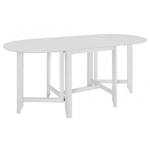 Zdjęcie produktu Rozsuwany stół do jadalni Nexos – biały.