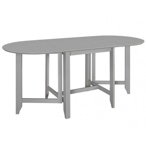 Zdjęcie produktu Rozsuwany stół do jadalni Nexos – szary.