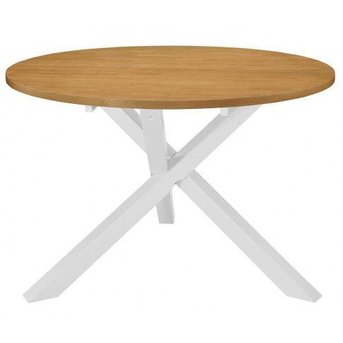 Zdjęcie produktu Stół ze skośnymi nogami Emis – brązowy.