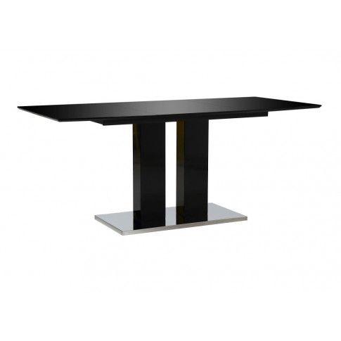 Zdjęcie produktu Stół jadalniany z połyskiem Alur – czarny.