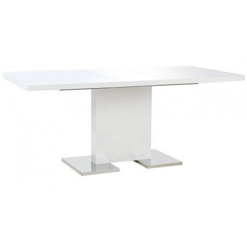 Zdjęcie produktu Rozkładany stół jadalniany z MDF Vinos – biały .