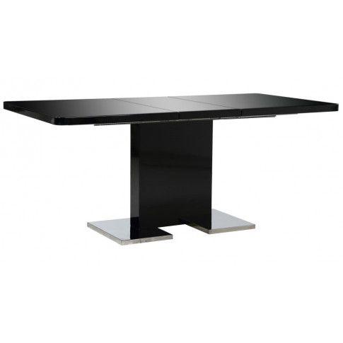 Zdjęcie produktu Czarny rozkładany stół - Vinos .