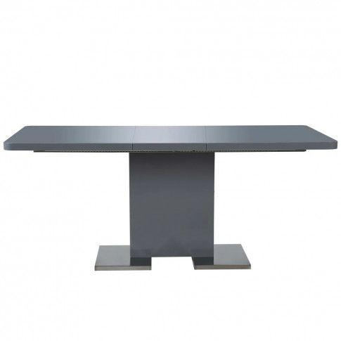 Zdjęcie produktu Rozkładany stół jadalniany z MDF Vinos – szary .