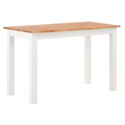 Zdjęcie produktu Stół z drewna dębowego Erin – biały .