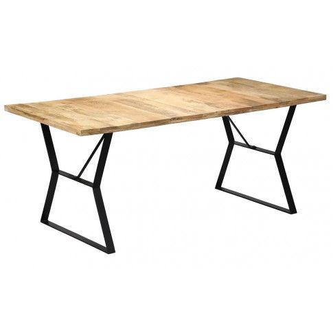 Zdjęcie produktu Stół jadalniany z drewna mango Vanil – brązowy .