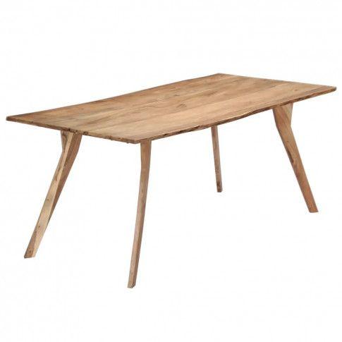 Zdjęcie produktu Stół drewniany Notimo 3X – brązowy .