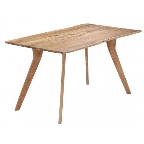 Zdjęcie produktu Stół drewniany Notimo 2X – brązowy .