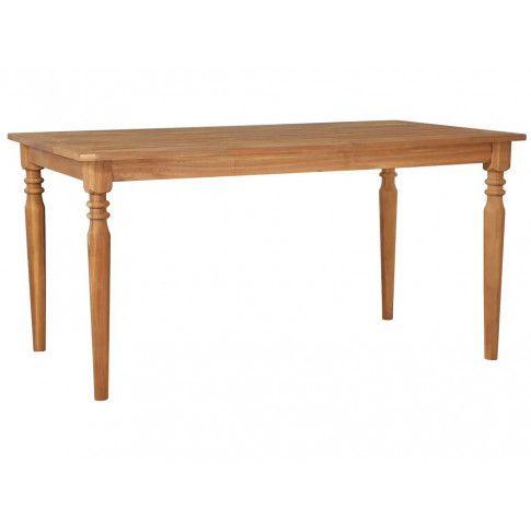 Zdjęcie produktu Stół z drewna akacjowego Kenzic – brązowy.
