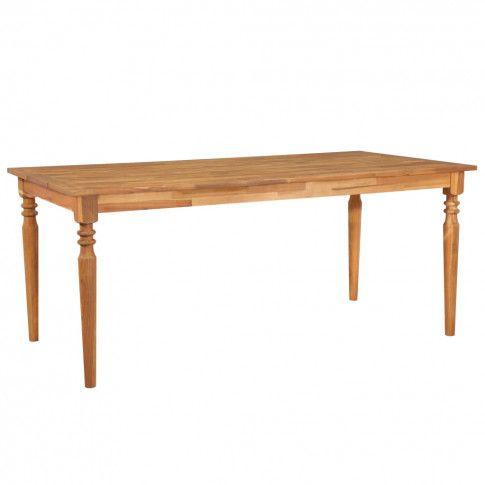 Zdjęcie produktu Jadalniany stół akacja Kenzic 2X – brązowy.