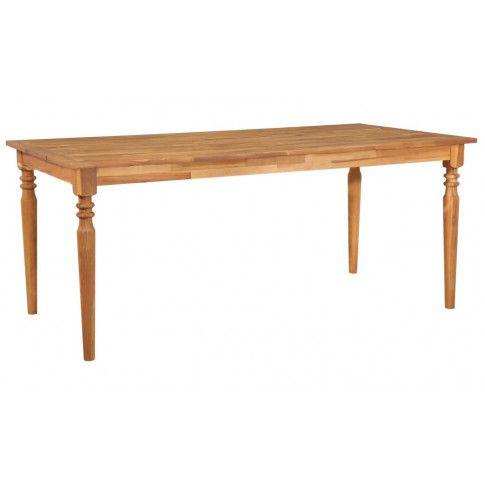 Zdjęcie produktu Stół z drewna akacjowego Kenzic 3X – brązowy.