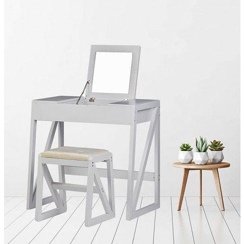 Zdjęcie produktu Rustykalna toaletka Pavona - biała.