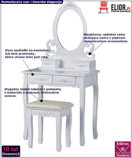 Toaletka Florencj 3X