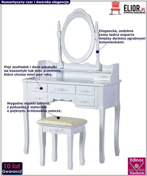 Toaletka Melinda 3X
