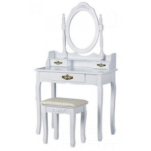 Zdjęcie produktu Elegancka toaletka Melinda 5X - biała.